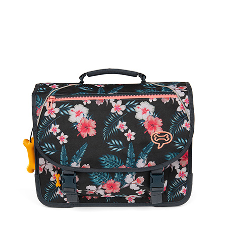 Lily - FLOWERS navy
