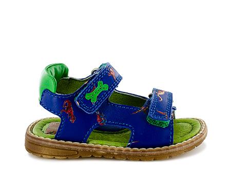 DELO nappa bluette + grass