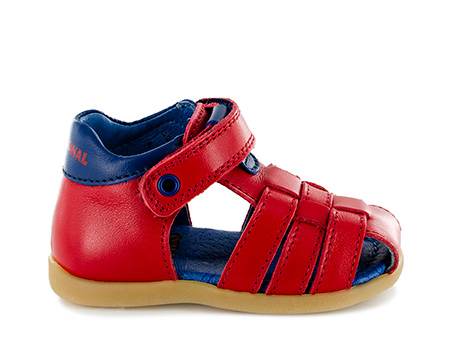 SARO vit red + navy