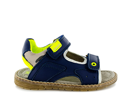 DENOS vit navy + yellow fluo