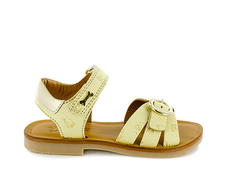 LISSA calf s. yellow + cream