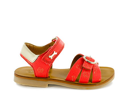 LISSA calf coral + cream