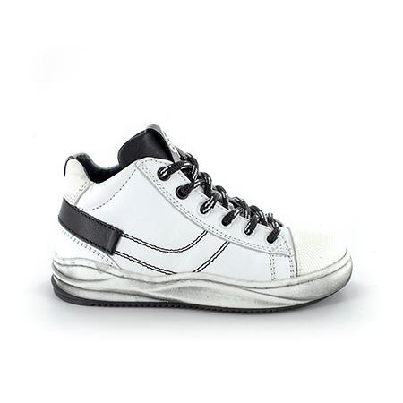SLIDO vit white + black