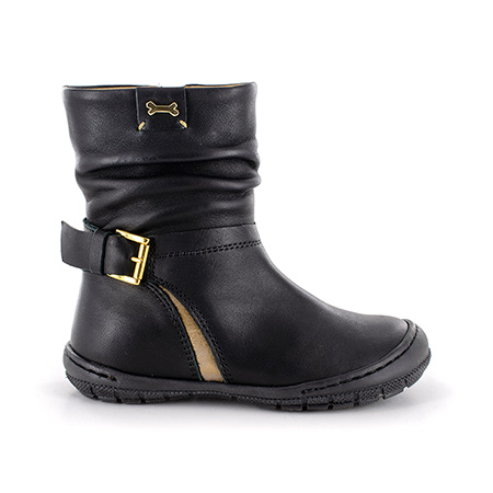 DEBRA calf black + gold
