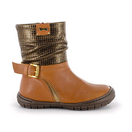 DEBRA calf - piedipull cognac