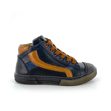 RASPO vitello navy + cognac