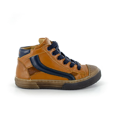 RASPO vitello cognac + navy