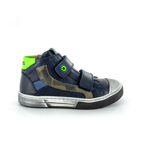 RENTO vitello navy + green fluo