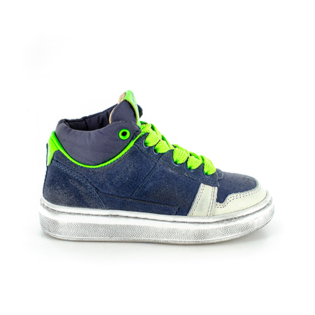 TOWER crs navy + verde fluo