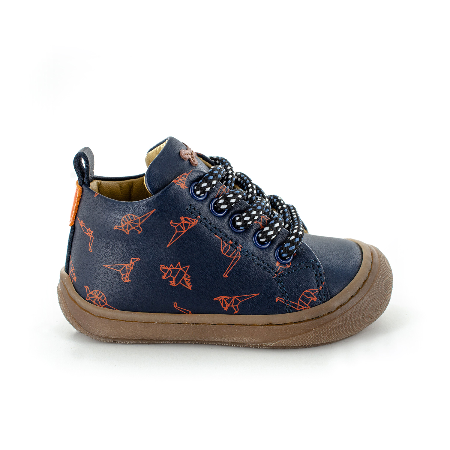 VORM calf navy + brick