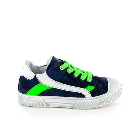 MAUST crs navy + verde fluo
