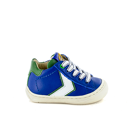 WINO calf electric blue + green