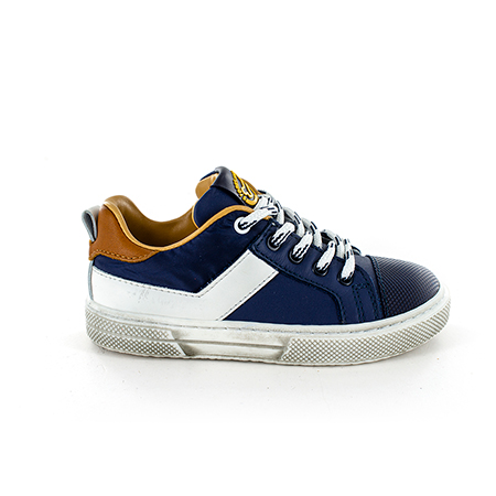 PERNO calf navy + white