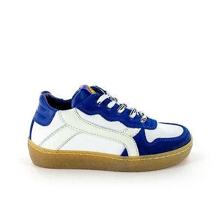 CESTO calf electric blue + ivor