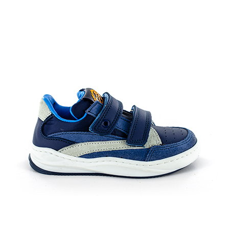 TROEP calf navy + sky
