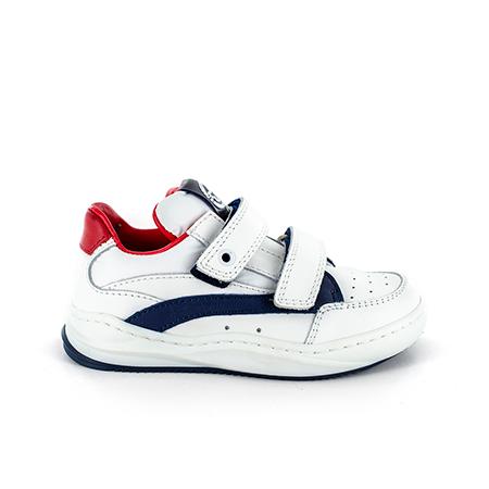 TROEP calf white + navy