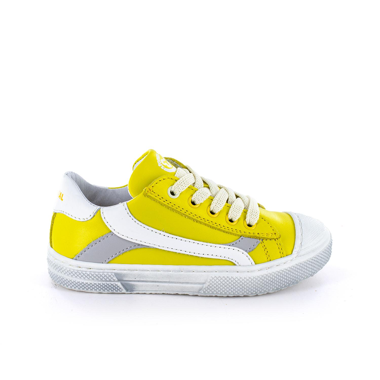 MAUST calf yellow + white