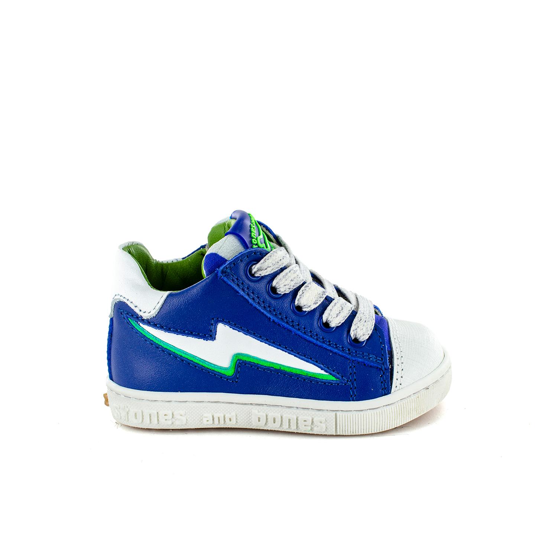 CROP calf electric blue