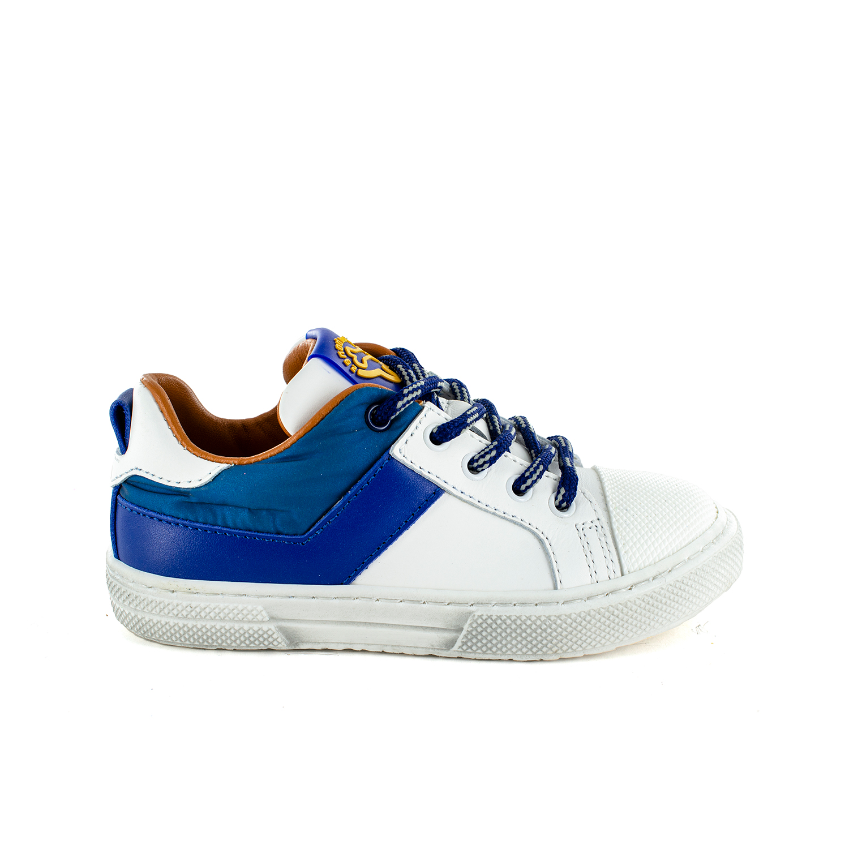 PERNO calf white + electric blue