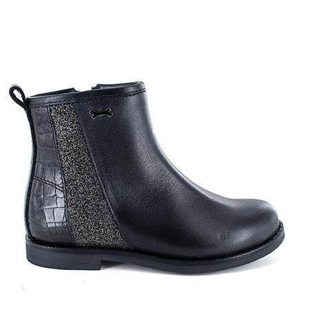 FERRA calf - glitter black