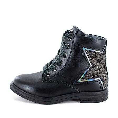 GEART calf - glitter black