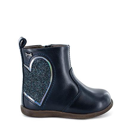 ENDA calf - glitter navy