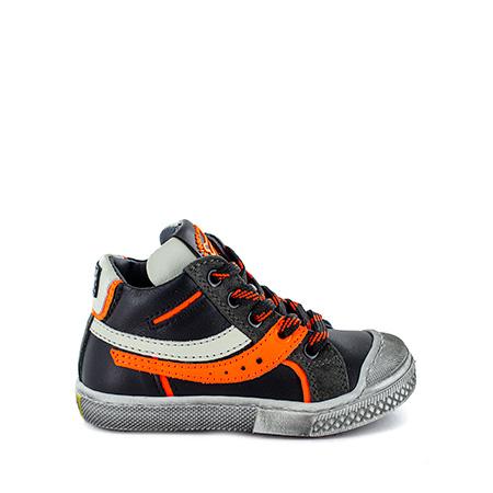 LIMB calf black + orange fluo