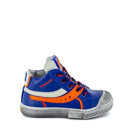 LIMB calf electric blue + orange fluo