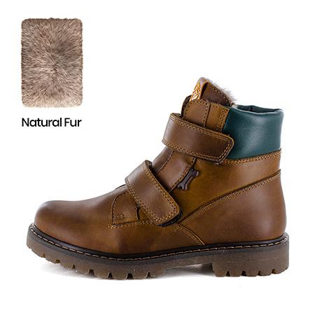 BELOT\W calf - fur tabac
