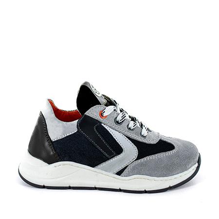 NESSO crs - calf black + grey