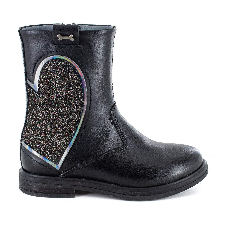 GARDA calf - glitter black