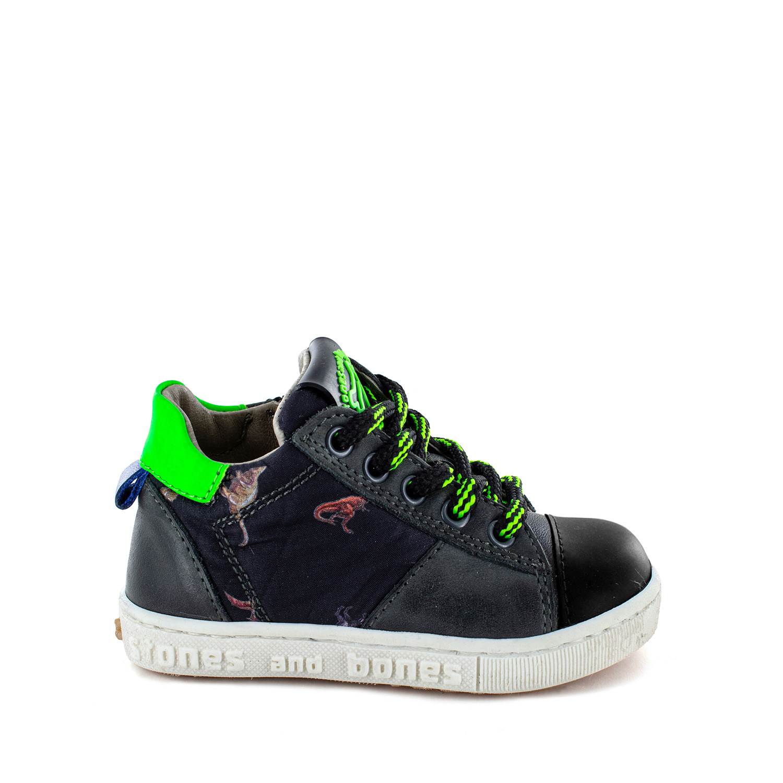DOST calf - textile smoke + verde fluo