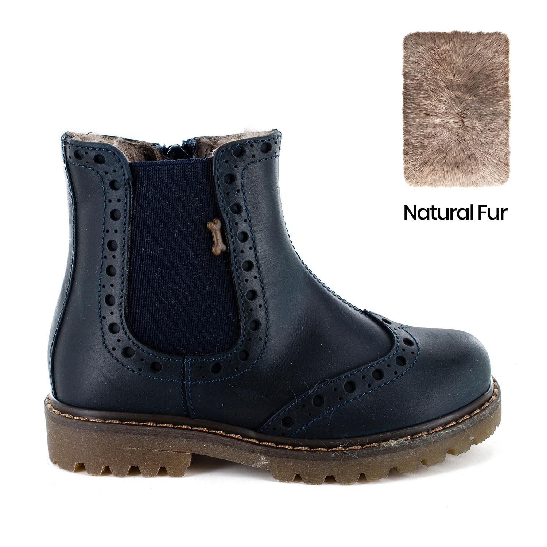 EVANT/W calf - fur navy