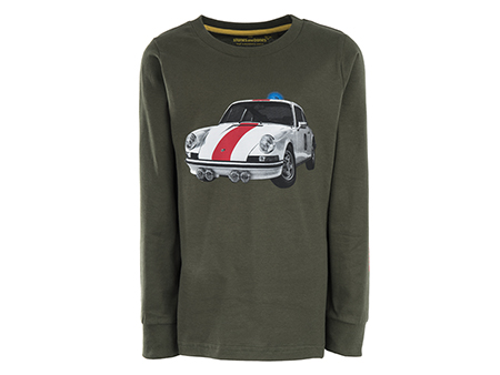Tougher - POLICE CAR khaki