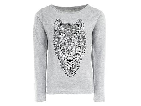 Blissed - WOLF lurex mel. grey