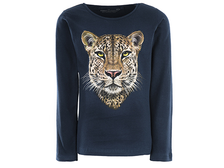 Blissed - LEOPARD navy