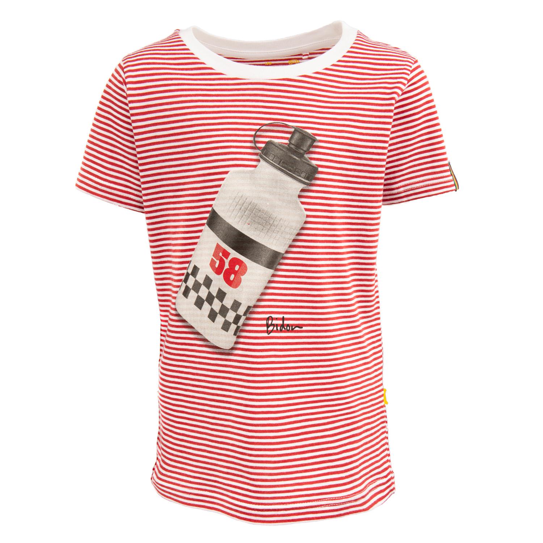 Russell - BIDON red + white