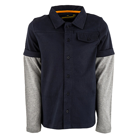 Balthazar - BASIC navy + m.grey