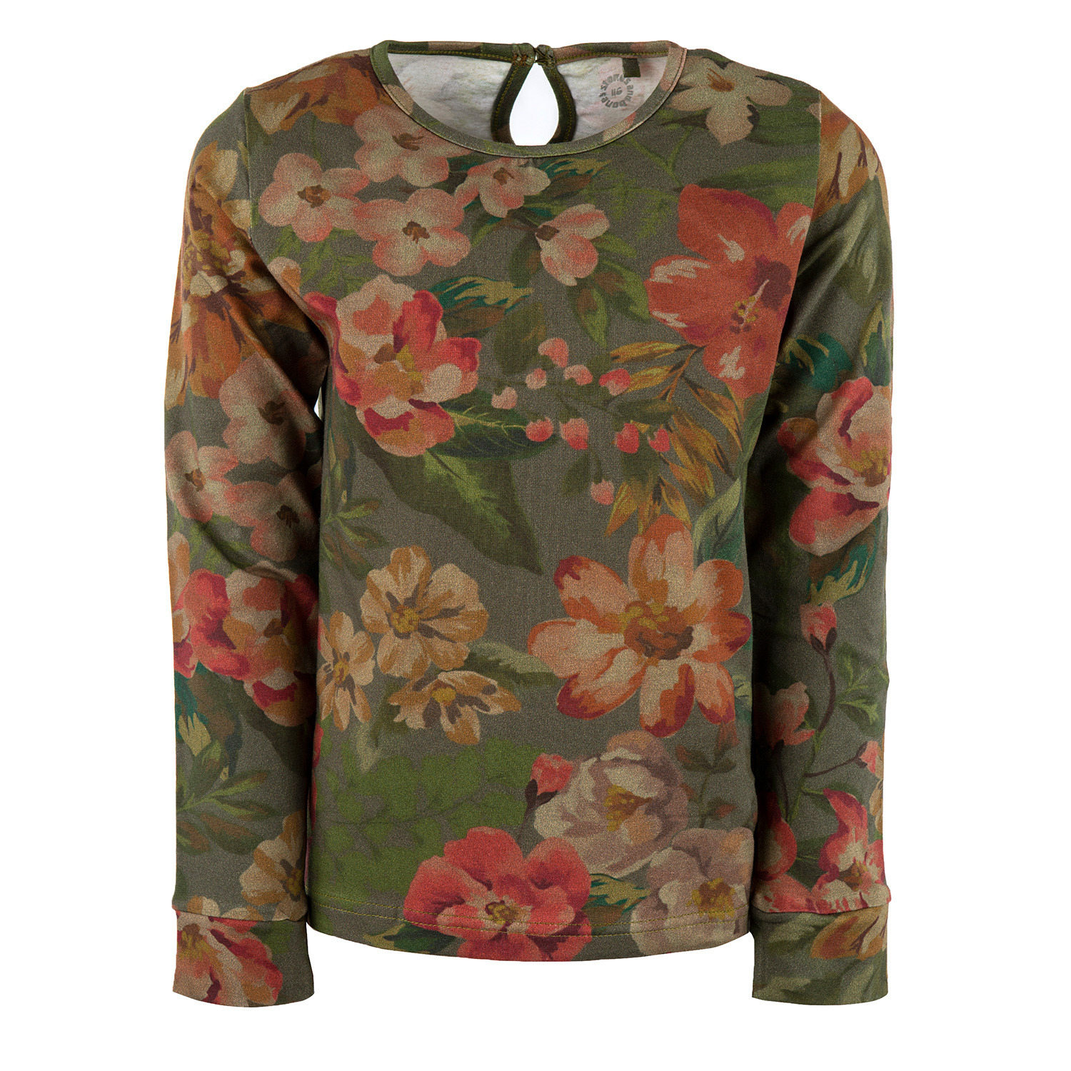 Amber - FLORAL green