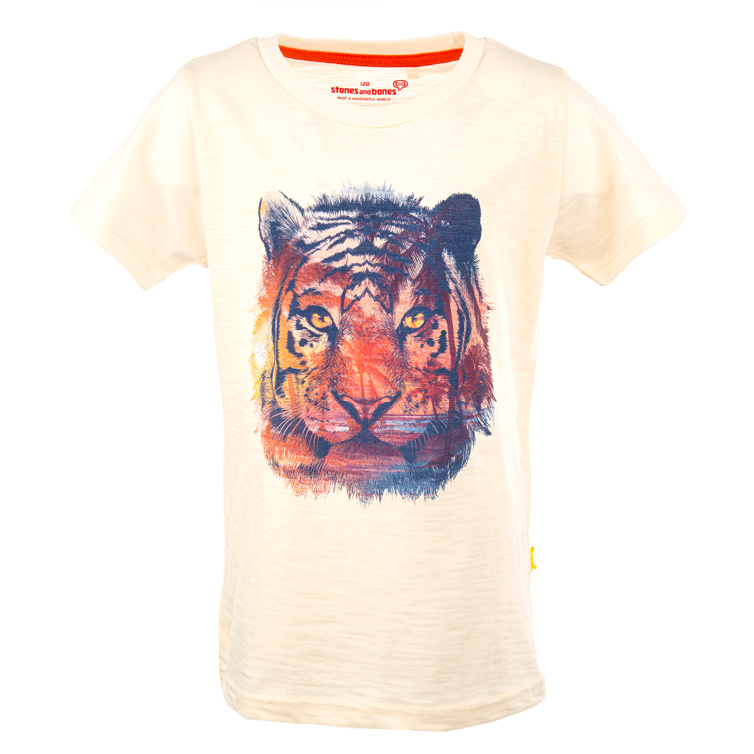 Russell - TIGER off white